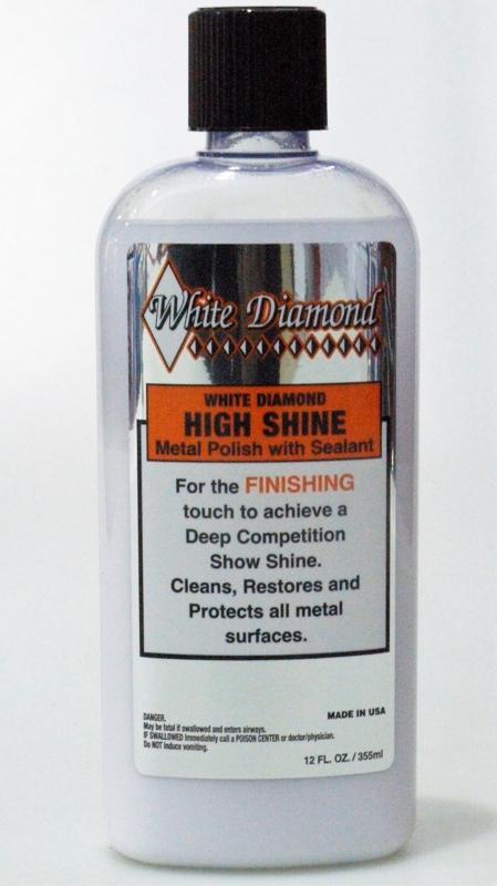 WHITE DIAMOND Metāla pulēšanas pasta (nobeiguma) 335ml (High Shine Finishing Metal Polish)