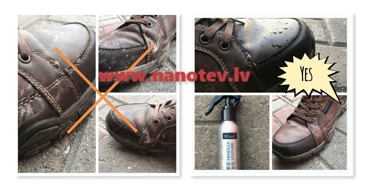 Aizsargpārklājums ādai (apaviem, apģērbiem un mēbelēm) Hendlex 100ml