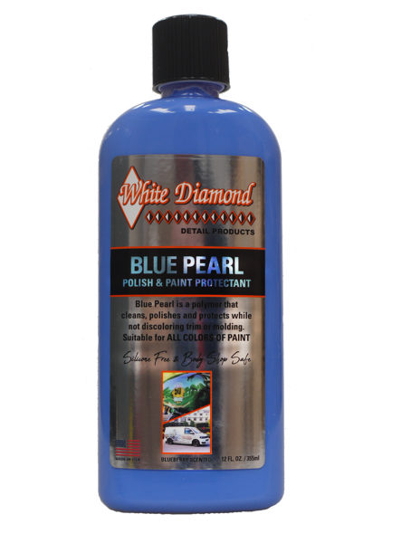 White Diamond aizsargvasks 355ml Blue Pearl Polish