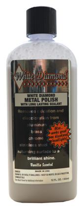 WHITE DIAMOND Metāla pulēšanas pasta 355ml (Metal polish)