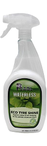"""PEARL WATERLESS """"Eco tyre shine"""" - Līdzeklis riepu, plastmasa detaļu un auto paneļu spīdumam"""