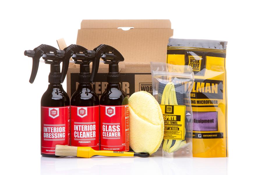 Salona tīrīšanas un aizsardzības komplekts (Good Stuff Interior Kit)