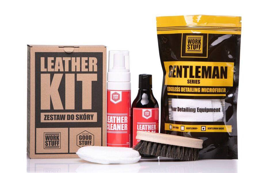 Ādas tīrīšanas un aizsardzības komplekts (Good Stuff Leather KIT)
